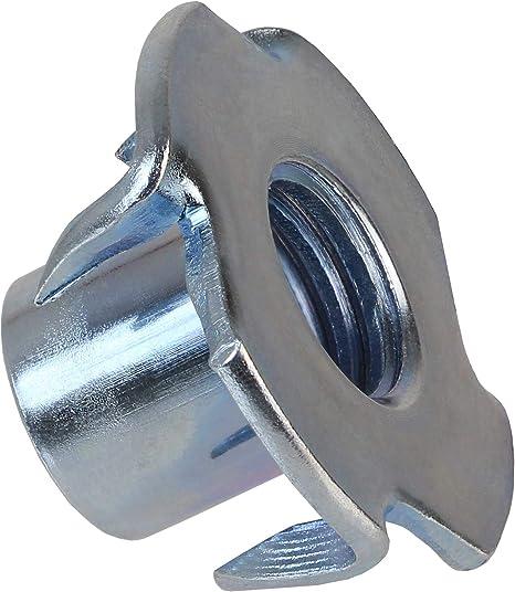 100 Einschlagmuttern M10 Klettergriffe Kletterwände Metall
