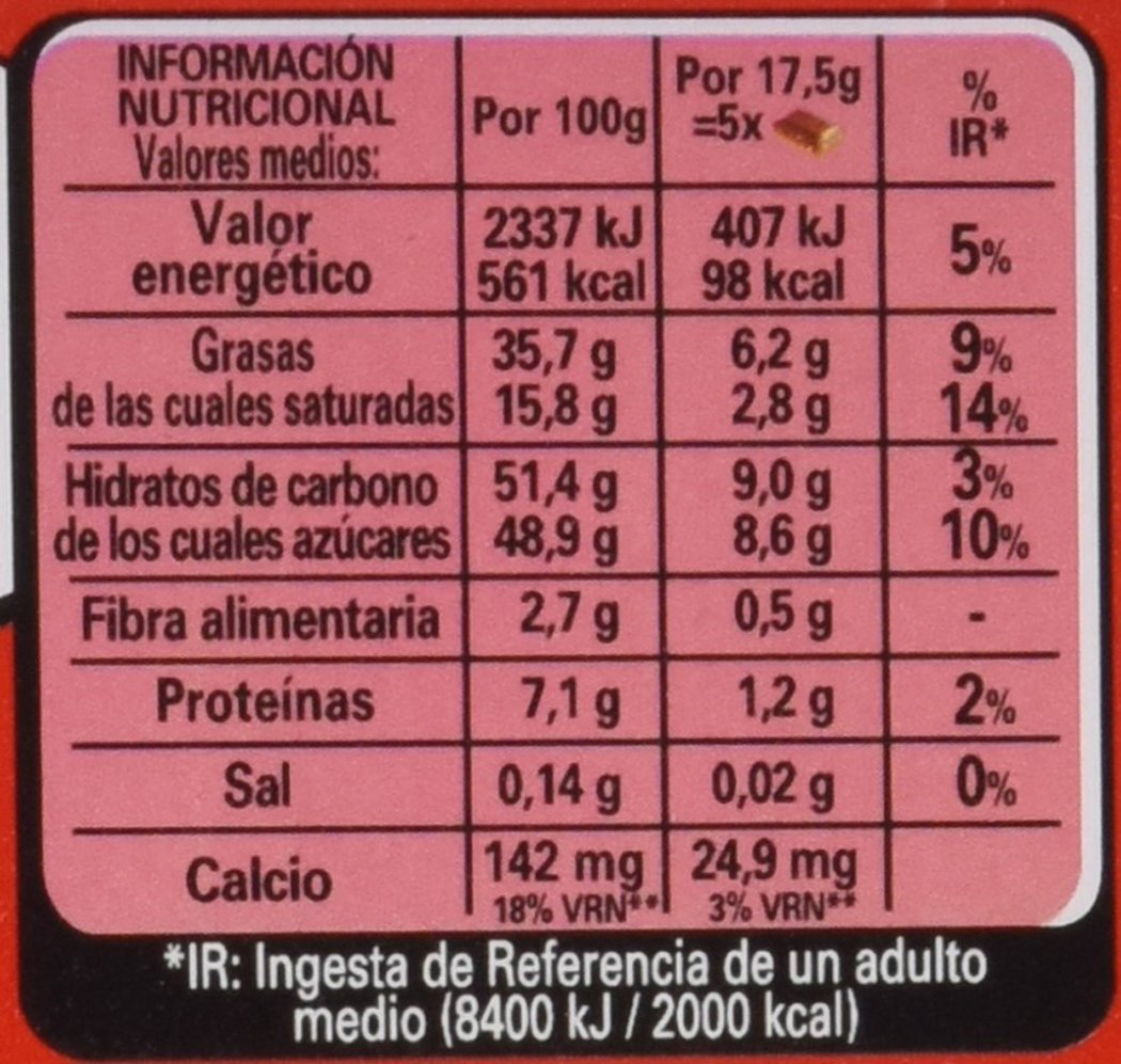 Nestlé Extrafino Chocolate con Leche Avellanas - Tableta de Chocolate 123 gr: Amazon.es: Amazon Pantry