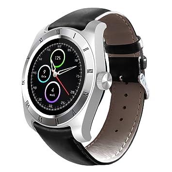 Zeblaze Classic - Smartwatch Pulsera Inteligente para Móvil Android IOS (Bluetooth 4.0, Ritmo Cardíaco, Podómetro, Recordatorio de Llamada / SMS, ...