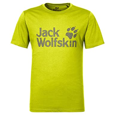510e29a67db Jack Wolfskin Men's Pride Function T-Shirt, Flashing Green, Medium ...
