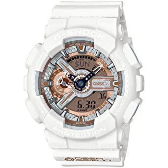 Casio G-Shock Dash Berlin Collaboration White Rose Gold Watch GA110DB-7A