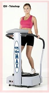 Gymform Vibromax Plus - Plataforma Vibrante y Oscilante, Negro y ...