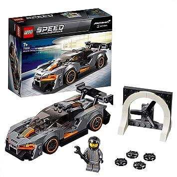 LEGO 75892 Speed Champions Senna McLaren Driver Minifigure Race Car  Building Set, Forza Horizon 4 Expansion Pack Model