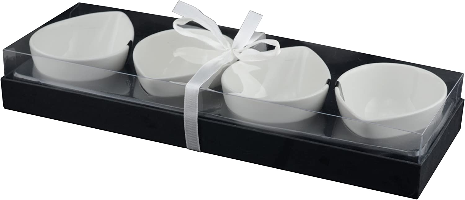 Tannex Set Of 4 Du Lait Comet Bowl White Amazon Ca Home Kitchen