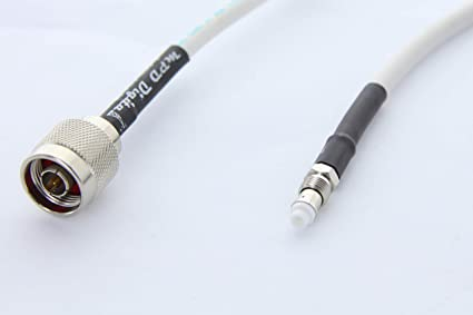 RG-8X HAM//CB Antenna Extension Cable w// UHF PL259 /& SO239 Connectors 6FT