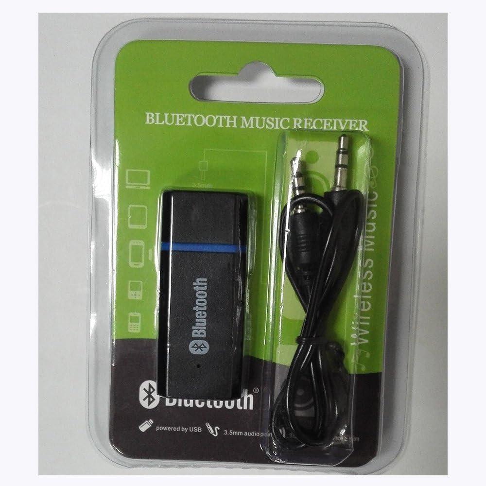 XDCDHM Ricevitore Audio Bluetooth Kit per Auto Mini Adattatore USB Wireless Audio Adattatore Ricevitore Musicale Bluetooth /& Uscita Stereo da 3.5/mm per Cuffie e Altoparlanti Auto Stereo Systems