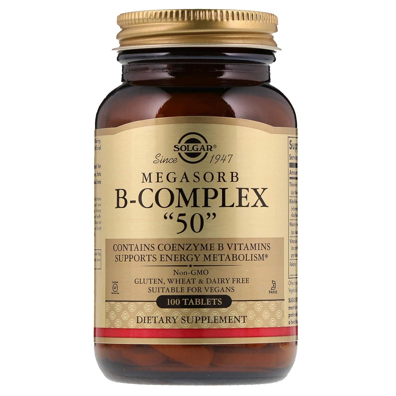 Solgar Megasorb Vitamina B-Complex Comprimidos - Envase de 100: Amazon.es: Salud y cuidado personal