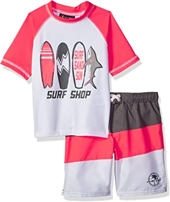 iXtreme Boys Little Printed Swim Trunks