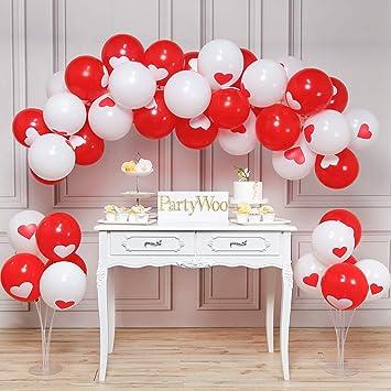 PartyWoo Globos 50 Piezas 12 Inch Látex Balloons para Fiesta ...