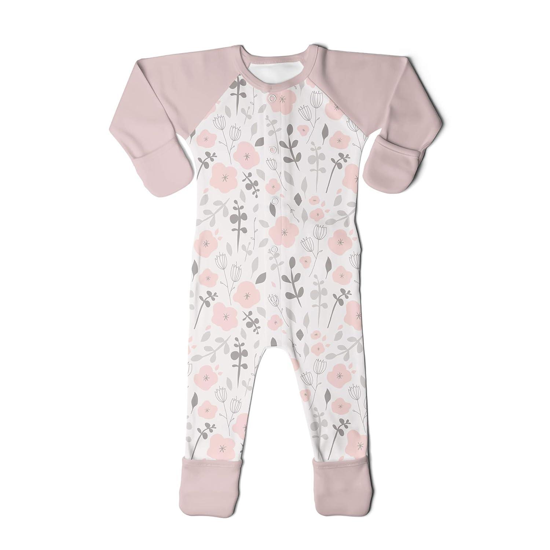Baby Footie Pajamas Organic /& Adjustable