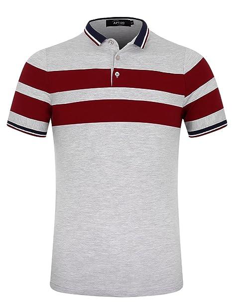 快適 シンプル スポーツ ファッション 薄手 かっこいい (3カラー) 通気性 カジュアル 半袖 無地 吸汗速乾 ポロシャツ メンズ トップス