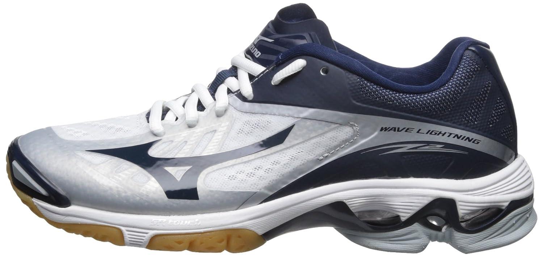 Mizuno Women's Wave 13 Lightning Z2 Volleyball Shoe B005BCN2R0 13 Wave D US|White/Navy 778fda