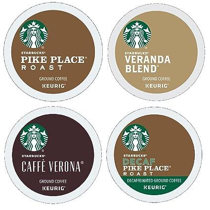 Starbucks Variety Pack K-Cups Brewers (Pikes lugar, Veranda ...