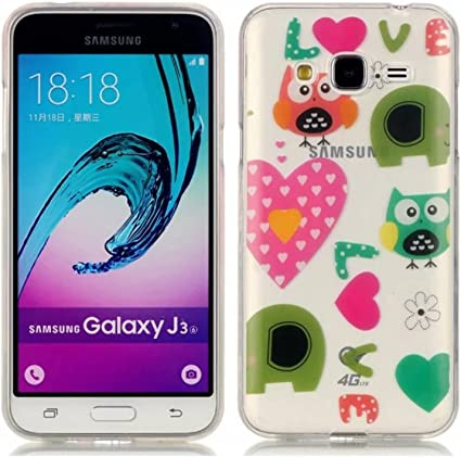 Coque pour Samsung Galaxy J3 (2016), Etui pour Samsung Galaxy J3 ...
