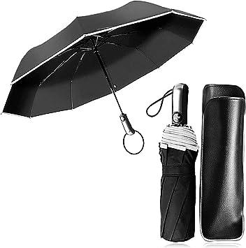 Paraguas Compacto y Resistente al Viento, Paraguas Plegable ...