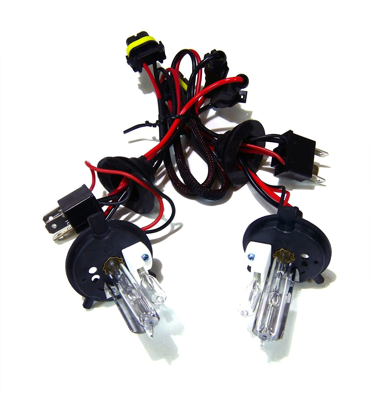 H15 Wiring Harness Hid Xenon Replacement Light Bulbs Low Beam Only 6000k Super White Pack Of 2 Automotive
