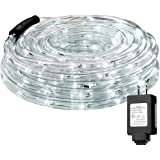 Amazon Price History for:LE 33ft 240 LEDs Rope String Lights, 6000-6500K Daylight White, Waterproof, Indoor Outdoor LED Rope Lights for Garden Patio Wedding Party Thanksgiving (Power Adaptor Included)