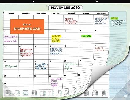 Calendario da Muro 2020 2021 – Calendario da Scrivania Mensile