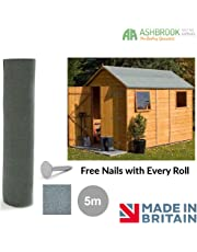 Shed Roofing Felt | Green Mineral 5m