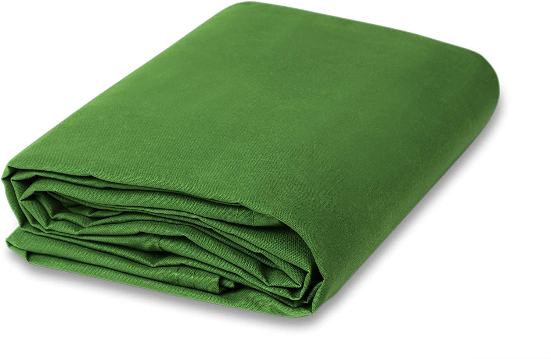 CCS CHICAGO CANVAS & SUPPLY 10 Ounce Cotton Canvas Fabric, 5 Yard Bolt, Apple Green