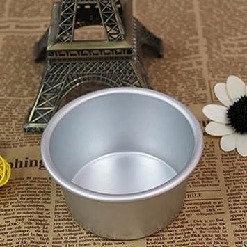1 pieza cocina del aluminio 5 Dariole * 7,5 cm formas moldes flan Cupcake: Amazon.es: Hogar