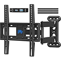 Mounting Dream UL Listed TV Mount TV Wall Mount Swivel and Tilt for 26-55 Inch TV, Perfect Center Design, Full Motion TV…