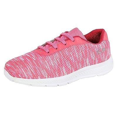 fb07d6f67 KazarMax Kid s Marble-Peach Sports Shoes for Boys Girls (Size   31 ...