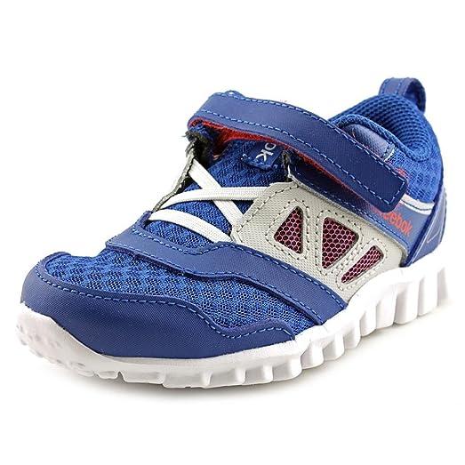 Reebok Realflex Speed 3.0 Running Shoe,Impact Blue/Steel/White/China Red