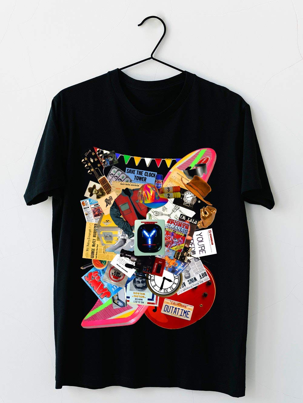 Back To The Future Trilogy Mix Saturated Version 8 T Shirt For Unisex
