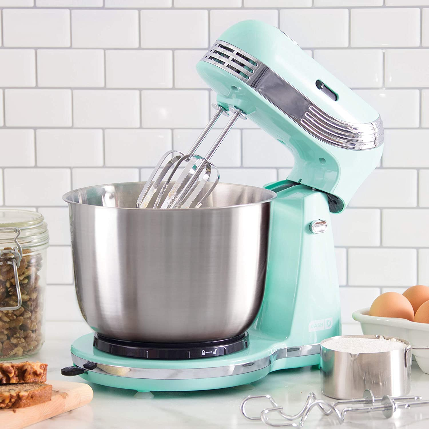 retro 6 Speed Stand Mixer