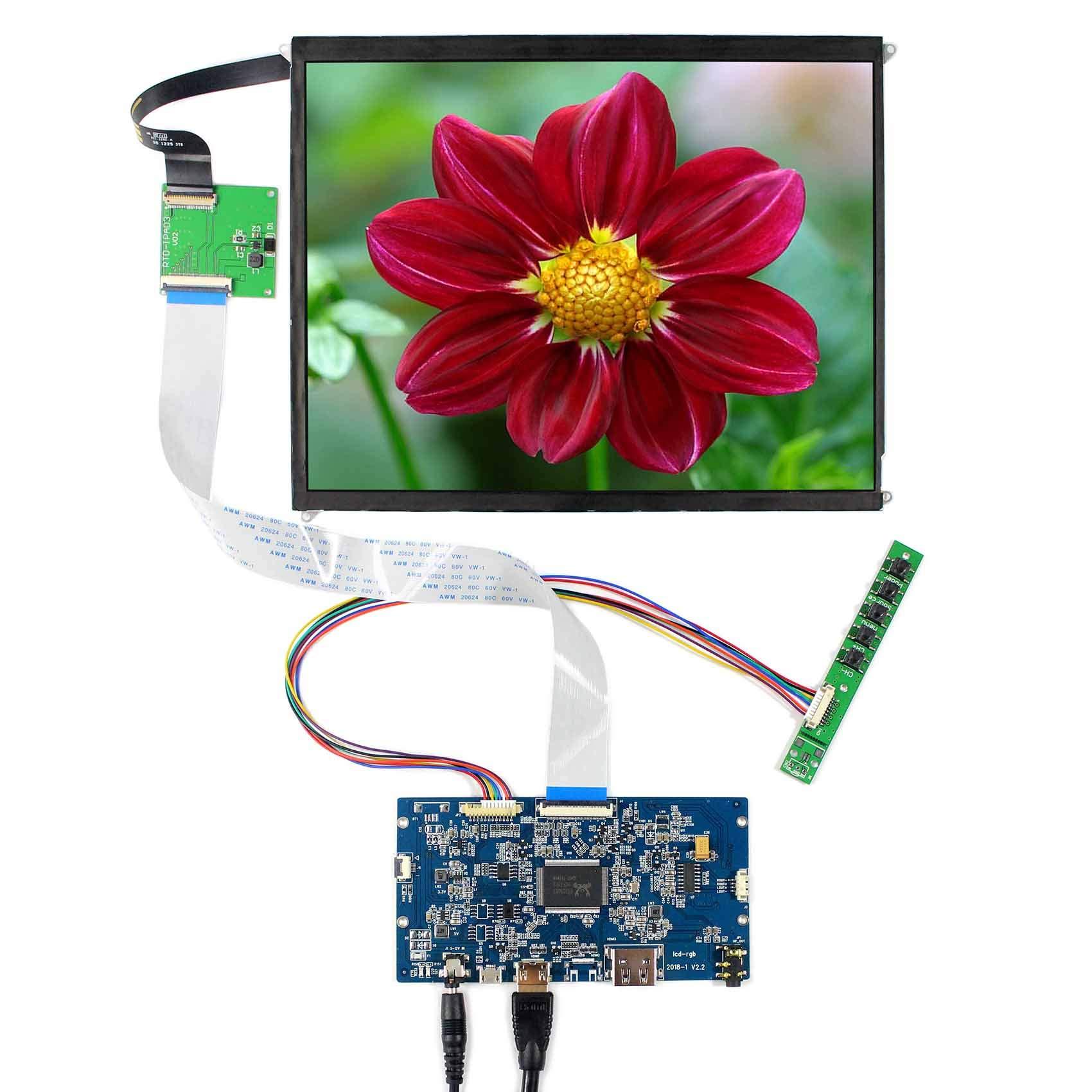 Controladora LCD HDMI VGA 9.7 2048x1536 LP097QX1/ LTL097QL01