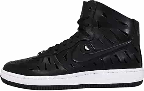 Colibrí Comprometido Príncipe  Amazon.com | Nike Women's AF1 Ultra Force Mid Joli Black/White 725075-001  (Size: 7.5) | Fashion Sneakers