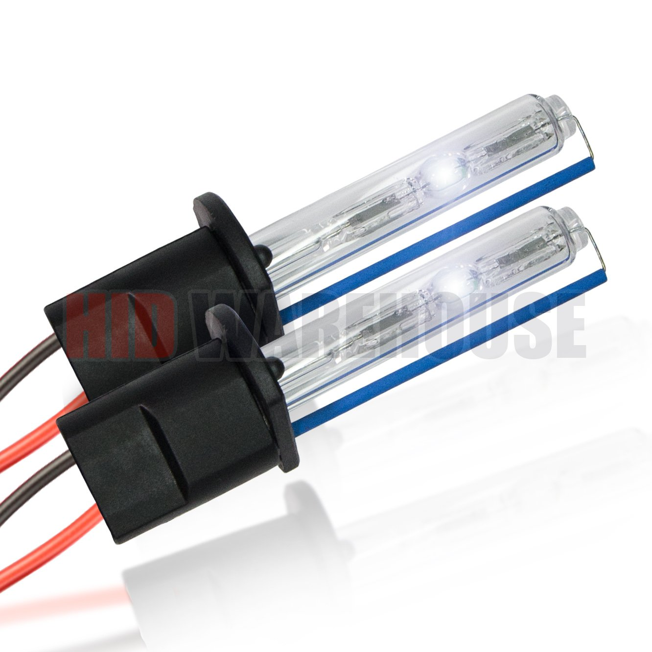 1 Pair HID-Warehouse HID Xenon Replacement Bulbs H7 5000K Bright White - 2 Year Warranty