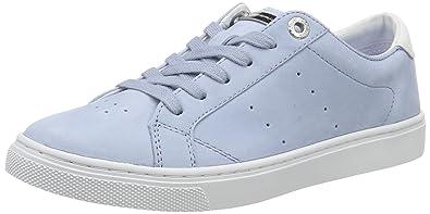 Tommy Hilfiger V1285enus 1n1, Sneaker Basses Femme, Bleu