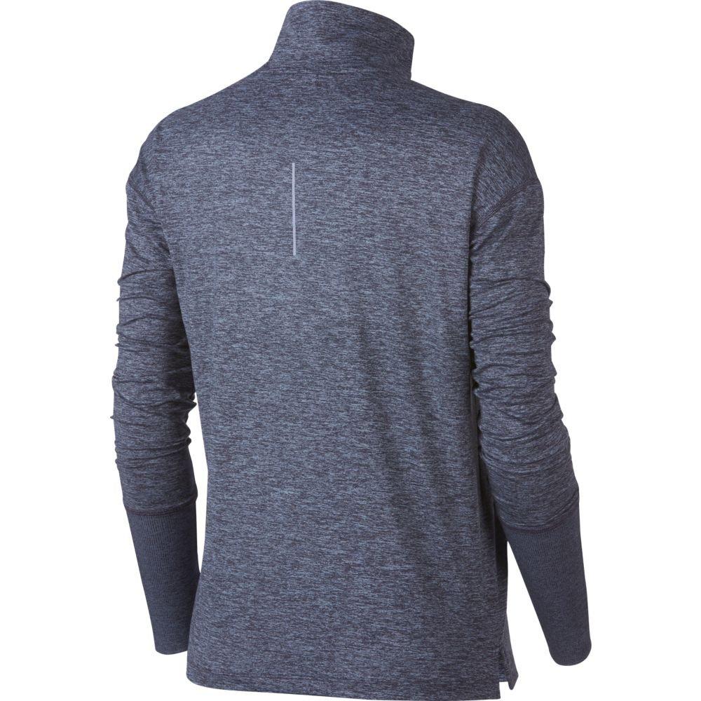 NIKE Women's Element Half-Zip Running Pullover (XS, Gridiron/Ashen Slate)