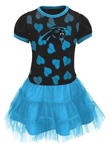 NFL Carolina Panthers  quot Love to Dance quot  Infant Girl Tutu Dress ... 7c815965f