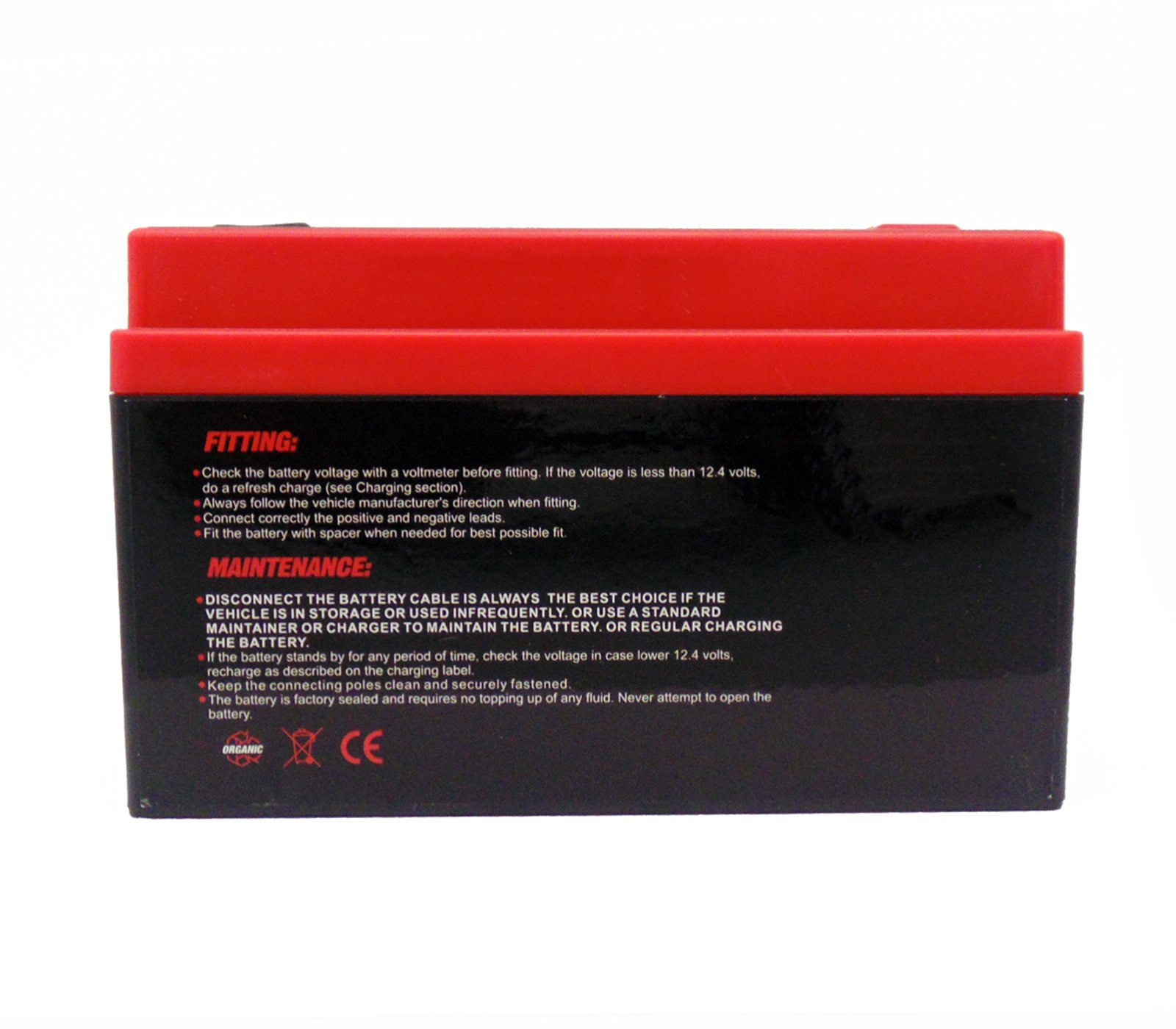 YTZ12S Z12S Lithium Ion Sealed Powersports Battery 12V - 300 CCA - NO Spills, Fully Charged and Activated Ready to Use (MMG4)