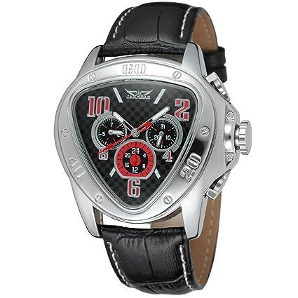 XKC-watches Relojes para Hombres, Hombres Moda Casual en Forma de corazón Tres Reloj. Pasa el ratón por ...