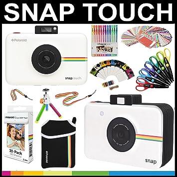 Polaroid   Pack cadeau appareil instantané Snap Touch + papier ZINK (30  feuilles) + 70765ee945ac