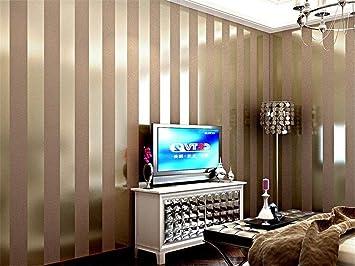 Hzf/Modernes, Minimalistisches Schwarze Und Weiße Streifen Von Vliestapeten Schlafzimmer  Wohnzimmer Sofa TV Hintergrund