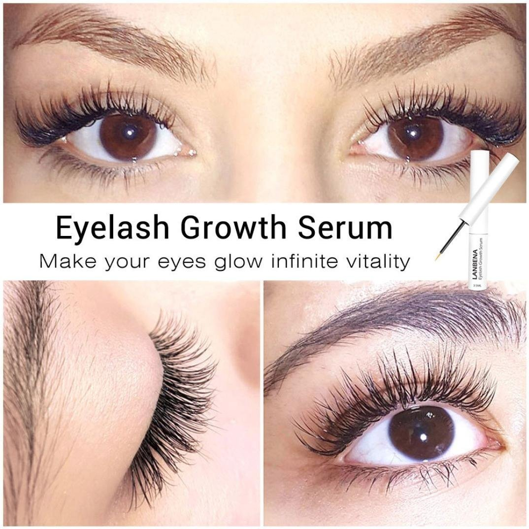 YRD TECH Lash & Brow Booster Serum Gives You Longer Fuller Thicker Looking Eyelashes (Multicolor) by YRD TECH (Image #3)