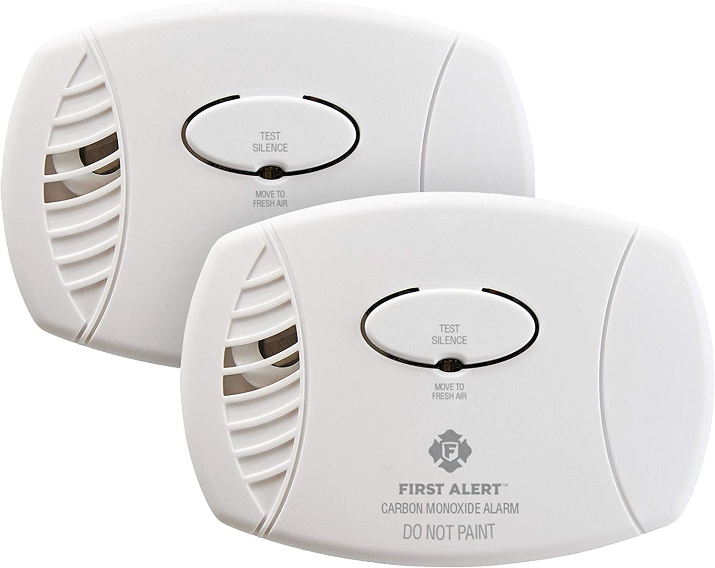 FIRST ALERT 2-Pack Carbon Monoxide Detector $27.00 Coupon