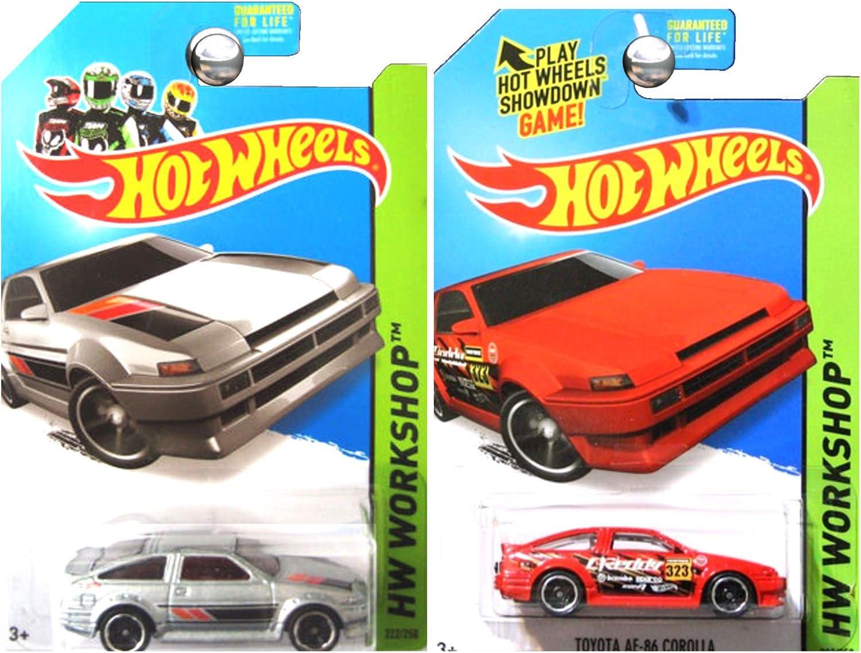Red Die-Cast Vehicle #239//250 Mattel NA 2015 HW Workshop Hot Wheels Toyota AE-86 Corolla