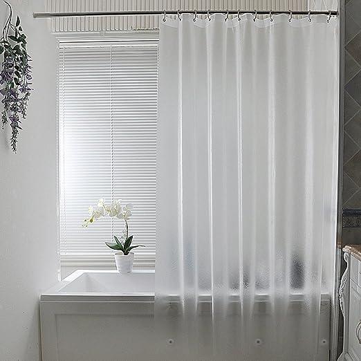Amazon Com Aoohome Extra Long Shower Curtain Liner Clear Eva