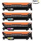 ONINO Cartucho de Tóner CLT-406 para Samsung Xpress Compatible con Samsung SL-C460W CLT-P406C SL-C460FW SL-C467W CLP-360 CLP-360N CLP-365 CLP-365W CLP-368 CLX-3300 CLX-3305 CLX-3305FN CLX-3305FW