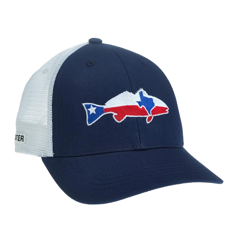 RepYourWater Texas Redfish Hat Navy//White