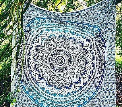 Amazon Com Sultan Handicrafts Hippie Mandala Tapestry Bedding
