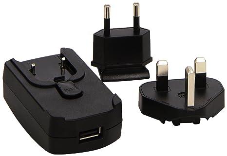 Garmin 010-10635-01 - Cargador (USB, 230 V, Negro)