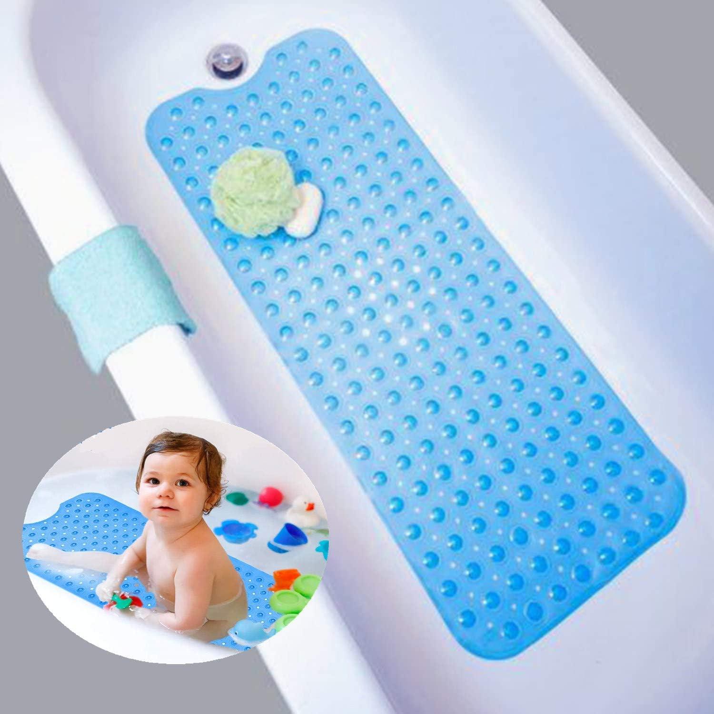 Gr/ün maschinenwaschbar Badewannenmatte 47x47cm Dusche Antirutschmatte mit Saugn/äpfen rutschfest Duscheinlage antibakterielle Badematte SIHOHAN Duschmatte