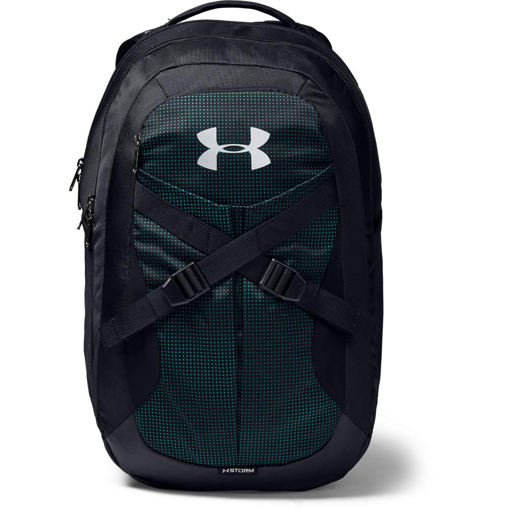Under Armour Recruit Backpack 2.0, Teal Rush//Silver, One Size Fits All